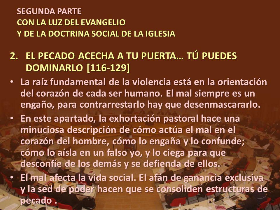 EL PECADO ACECHA A TU PUERTA… TÚ PUEDES DOMINARLO [116-129]